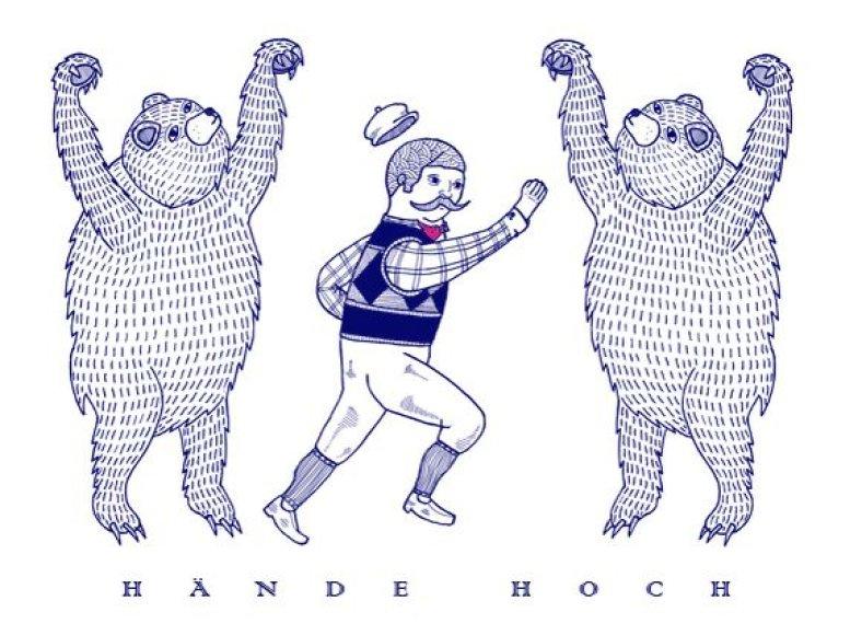 """""""Hände Hoch!"""" vakarėlių serija"""