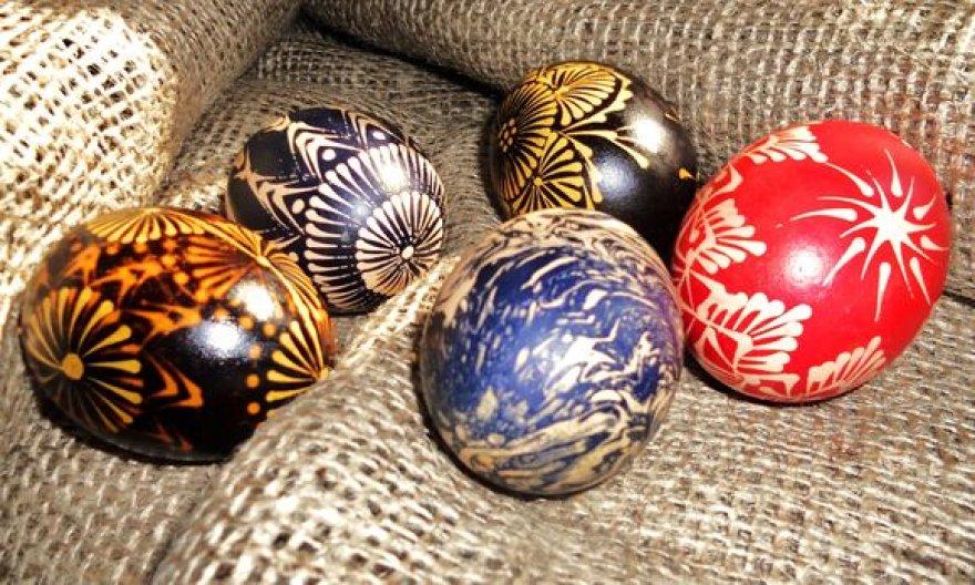 Vašku marginti kiaušiniai