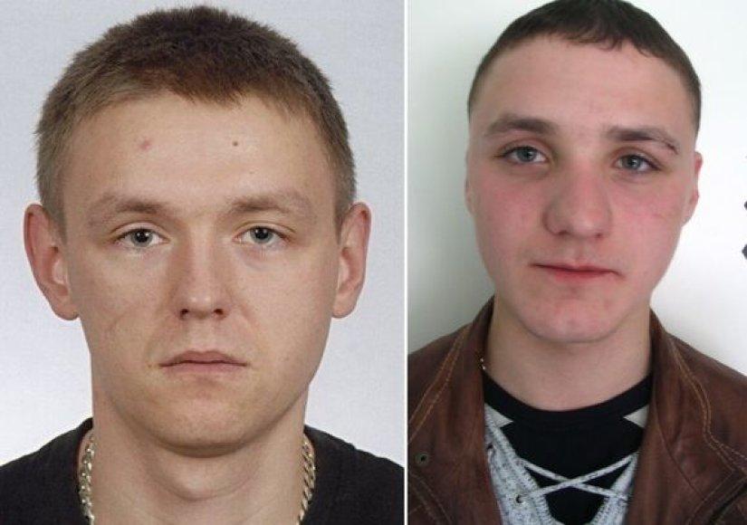 Estų policijos ieškomi asmenys