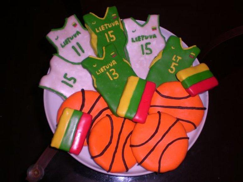 Krepšinio sausainiai