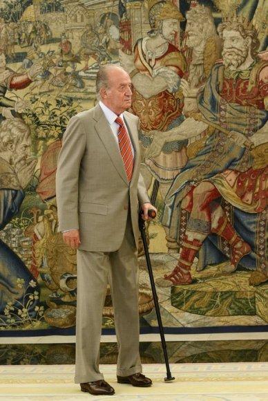 Ispanijos karalius Juanas Carlosas