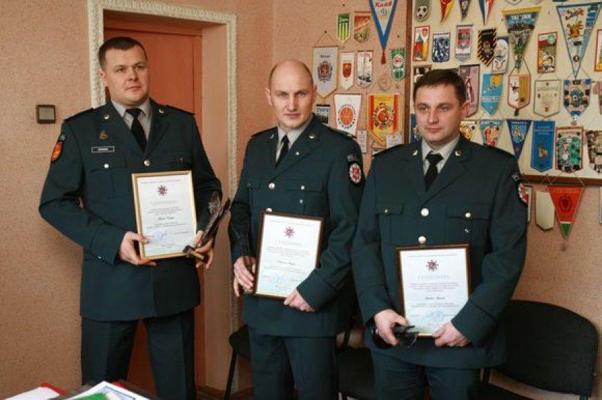 Trys geriausi apskrities inspektoriai