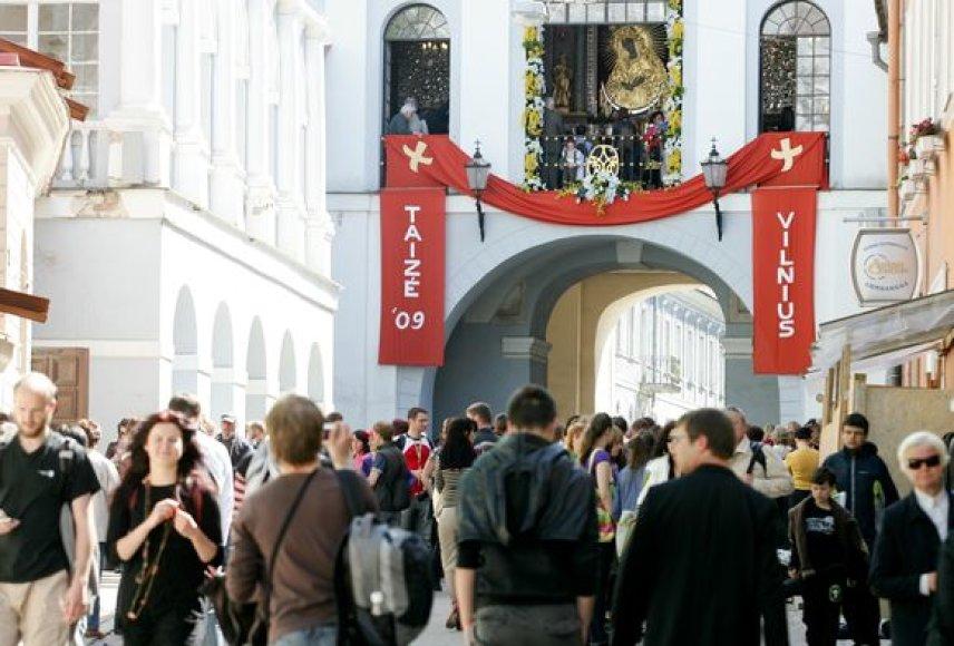 Aušros vartai Vilniuje