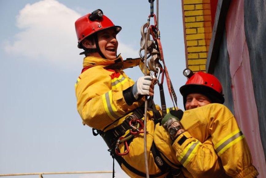 Ugniagesiai-gelbėtojai