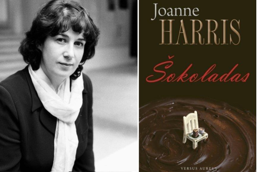 """Rašytoja išgarsėjo pasirodžius jos romanui """"Šokoladas""""."""