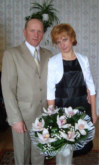 Ponią Valentiną sveikina visa šeima
