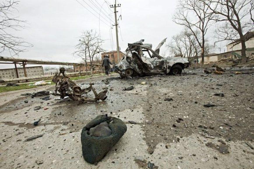 Sprogimas Dagestane
