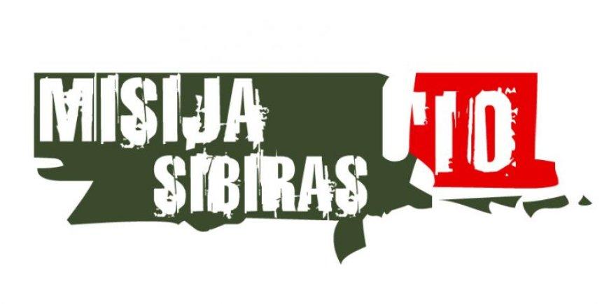 """Misija Sibiras'10"" logotipas"