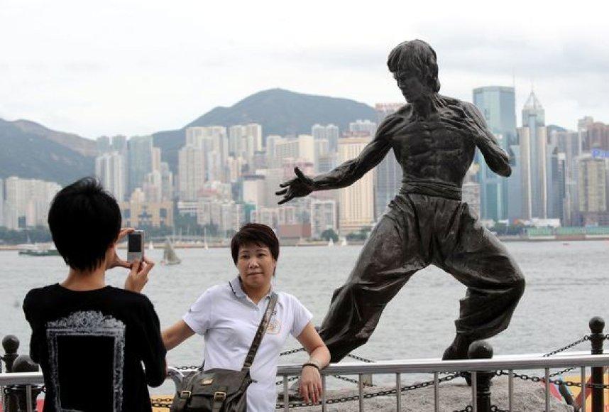 Bruce Lee statula