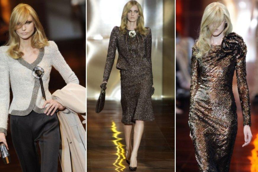 Paryžiuje pristatyta Giorgio Armani 2010-2011 m. rudens-žiemos kolekcija.