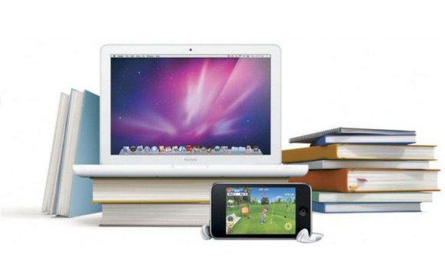 """MacBook"" ir ""iPod touch"""