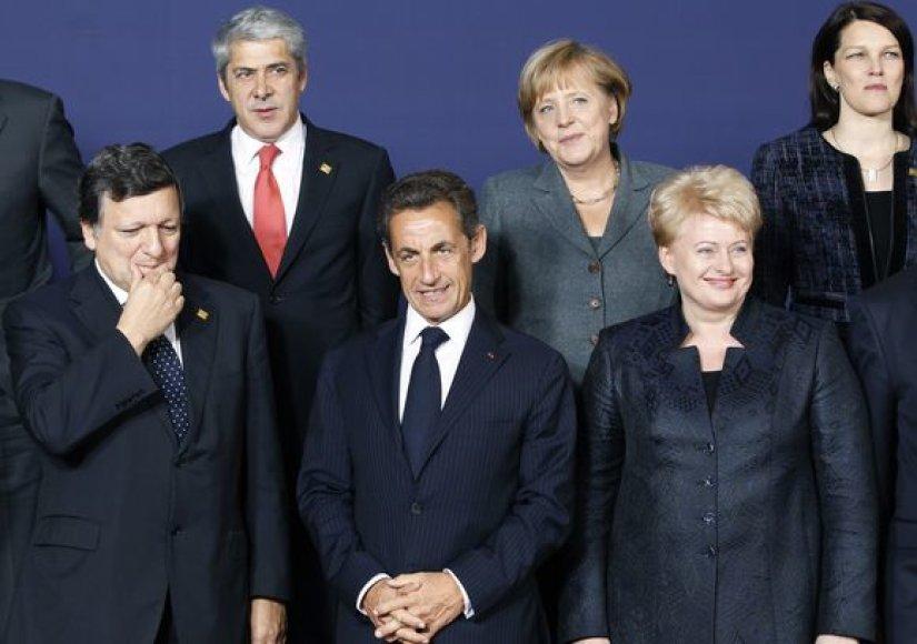 Prezidentė Dalia Grybauskaitė dalyvauja ES Vadovų tarybos darbe Briuselyje.