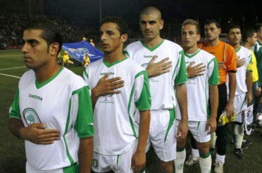 Palestinos futbolo rinktinė
