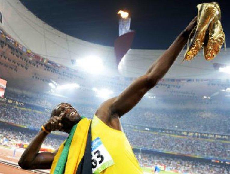 Usainas Boltas sezoną pradės vasarį