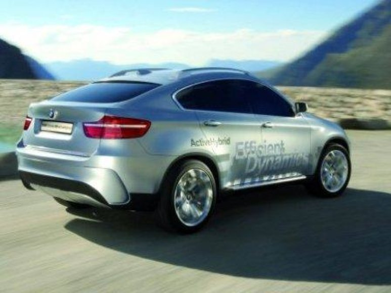 "BMW X6 ""Active Hybrid"""