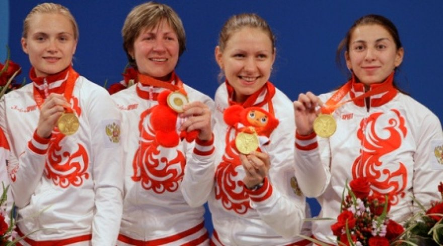 Olimpinė čempionė – Rusijos fechtavimo rinktinė