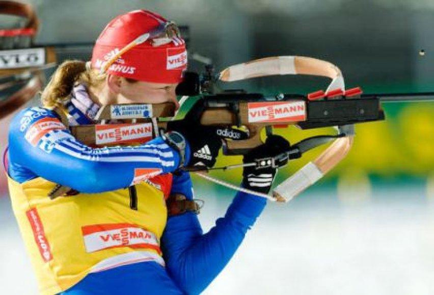 Sezono lyderė Jekaterina Jurjeva