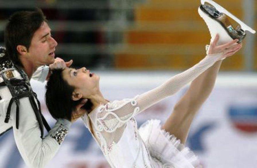 Yuko Kawaguchi ir Aleksandras Smirnovas