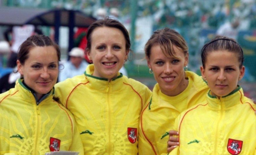 Lietuvos estafetės 4x400 metrų bėgimo rinktinė