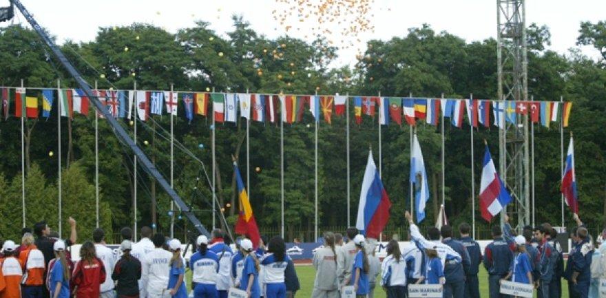 2005 metais Kaune vykusio Europos jaunimo čempionato atidarymas