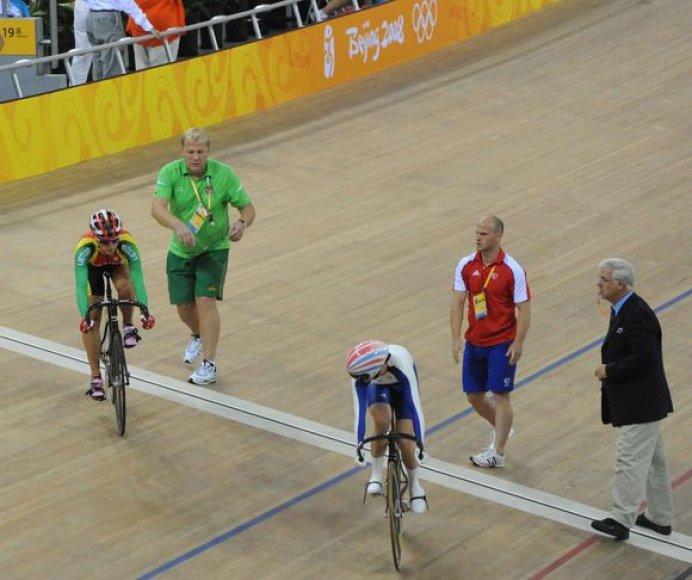 Simona Krupeckaitė olimpiniame treke