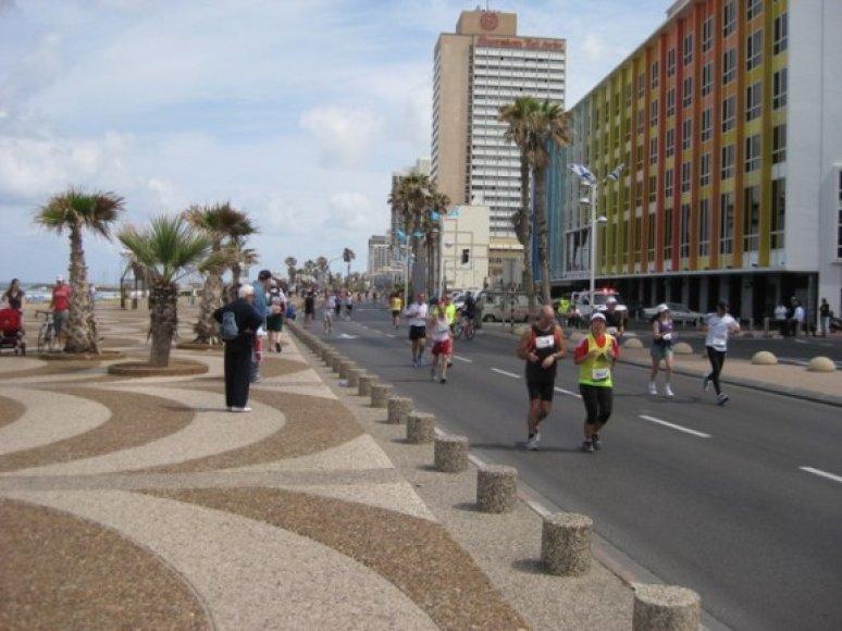Tel Avivo maratonas