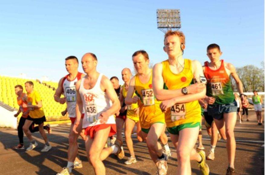 3000 metrų bėgimo startas
