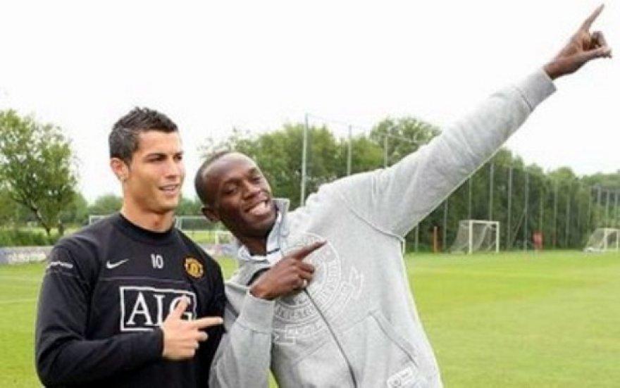 U.Boltas ir C.Ronaldo