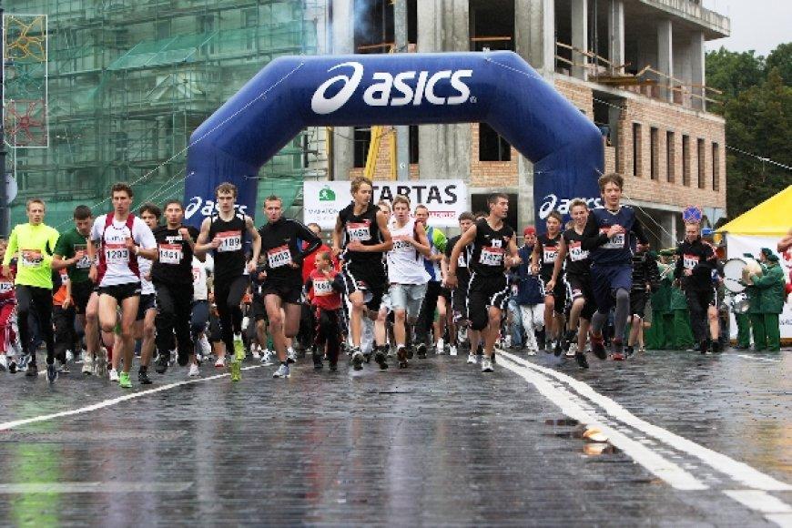 2008 metų Vilniaus maratono startas