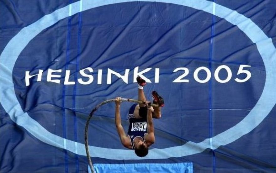 2005 metais Helsinkyje vyko pasaulio lengvosios atletikos čempionatas