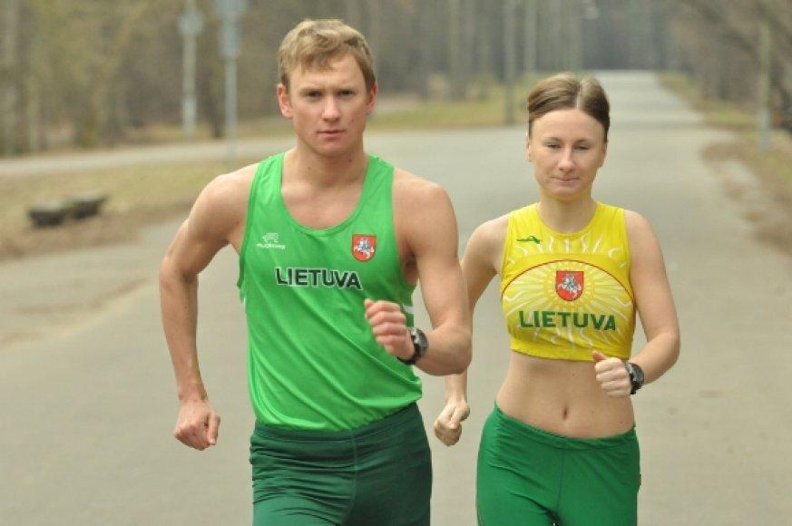 Brigita Virbalytė ir Tadas Šuškevičius