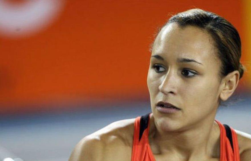 Jessica Ennis iki traumos 2008 metais
