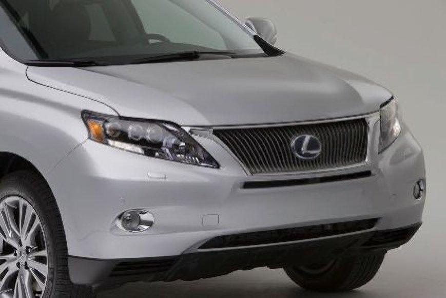 "Naujasis ""Lexus RX"" visureigis"