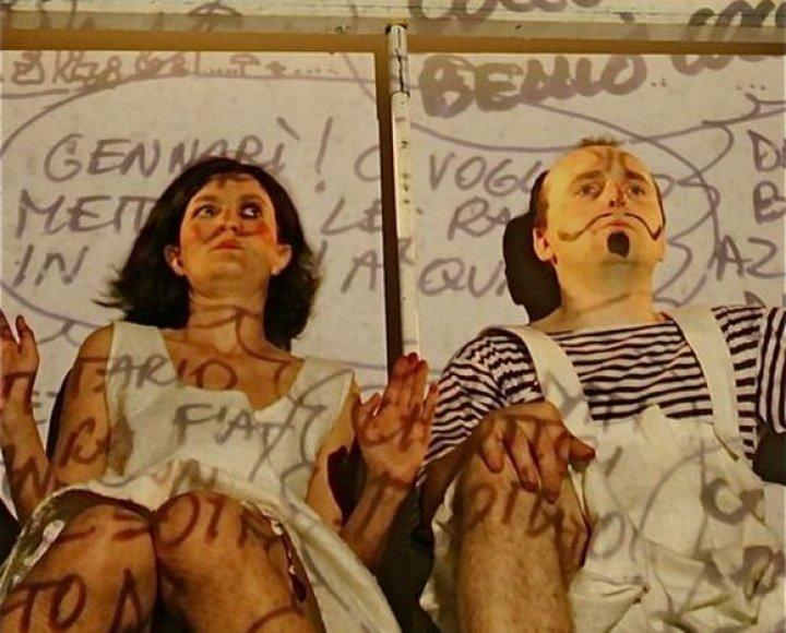 """Italijos teatro """"Scarlattine Teatro"""" spektaklis """"Mano libera"""""""