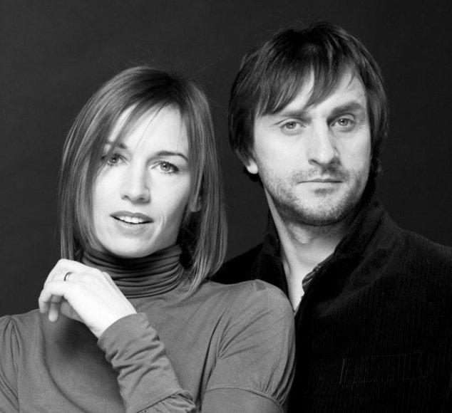 Aktoriai Viktorija Kuodytė ir Dainius Kazlauskas