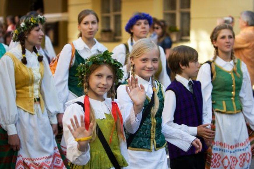 "Folkloro festivalis ""Skamba skamba kankliai"""