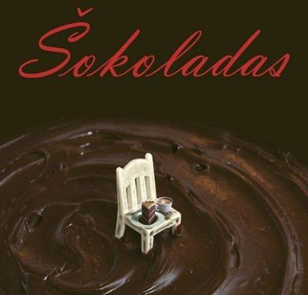 """Joanne Harris knyga """"Šokoladas"""""""