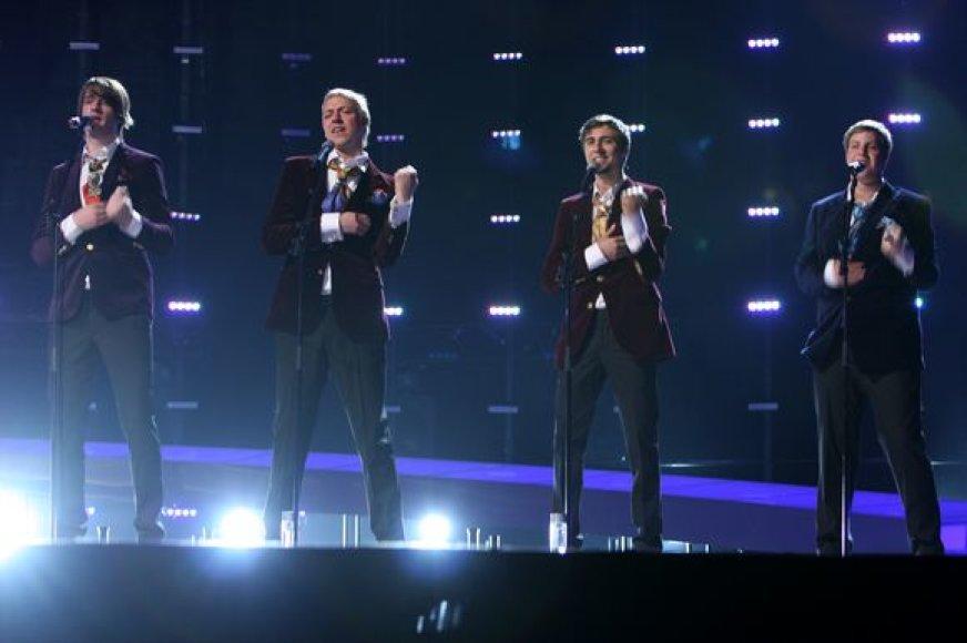 """Estijai """"Eurovizijoje"""" atstovauja Malcolm Lincoln"""