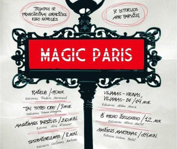 """Filmas """"Magiškas Paryžius"""""""