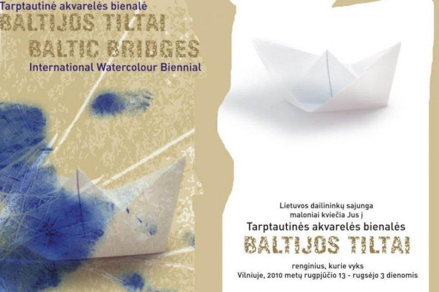 Kvietimas į akvarelės bienalę