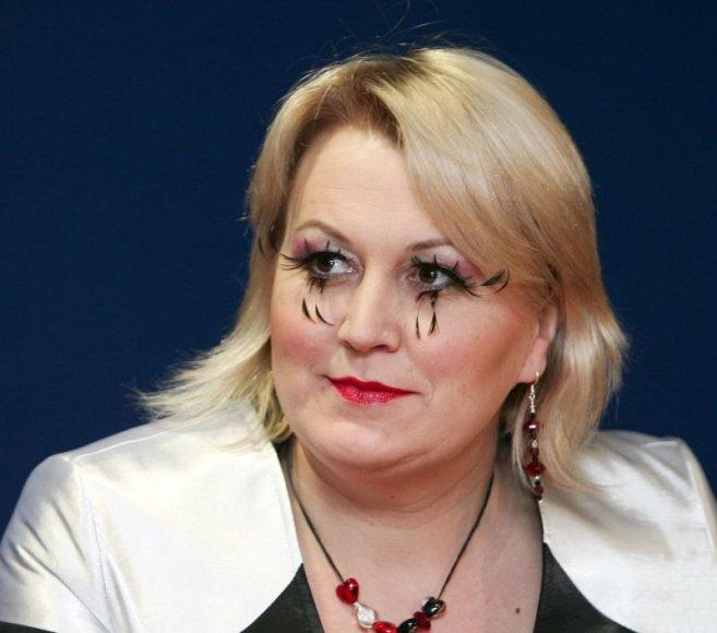 """TV laidos """"Tele bim-bam"""" vedėja Neringa Čereškevičienė"""