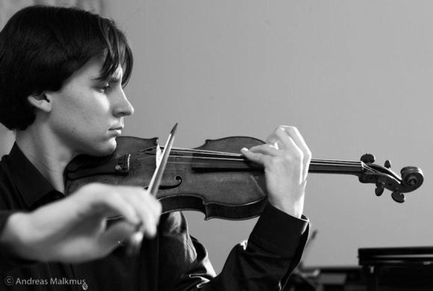 Smuikininkas Davidas Gueranas
