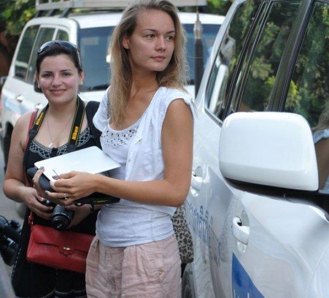 Renata Šakalytė ir Jurgita Jurkutė