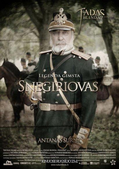 """Antanas Šurna filme """"Tadas Blinda. Pradžia"""" įkūnijo Snegiriovo personažą"""