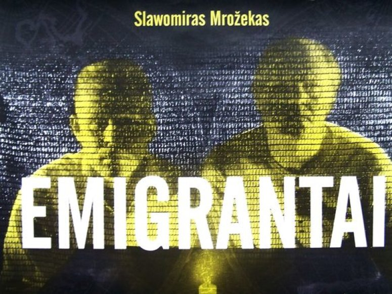 "Spektaklis ""Emigrantai"""