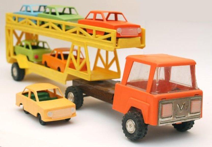 Žaislų muziejaus eksponatai