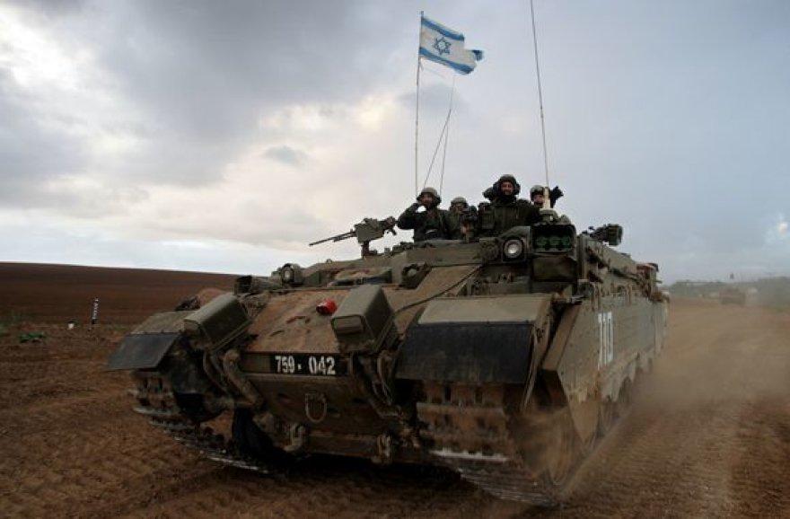 Izraelio kariai palieka Gazos ruožą.