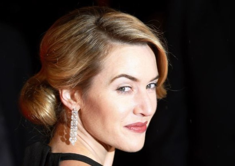 Britų aktorė Kate Winslet