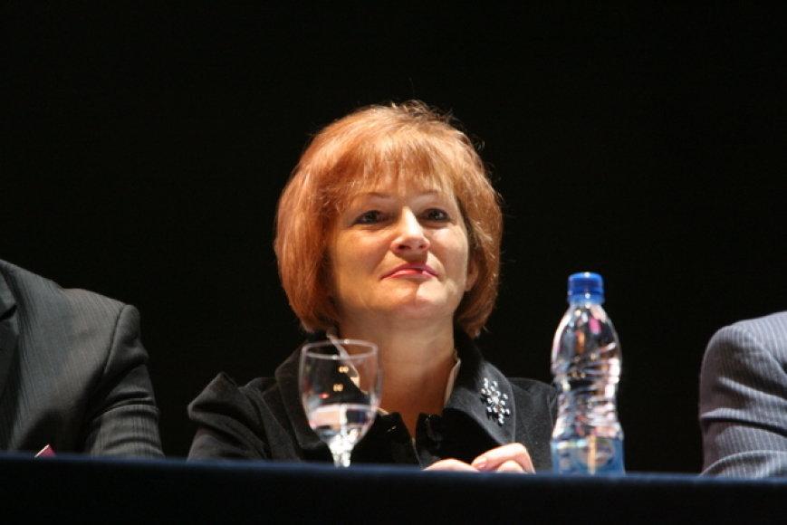 LSDP pirmininko pavaduotoja Birutė Vėsaitė