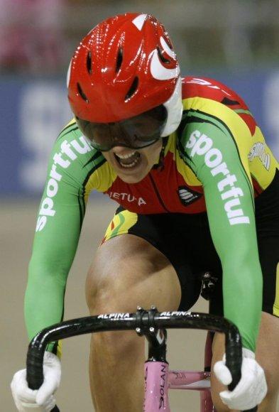 Simona Krupeckaitė startuoja Lietuvos čempionate